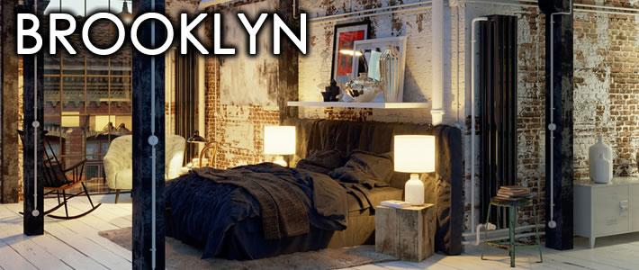 ブルックリンスタイルに合うベッド