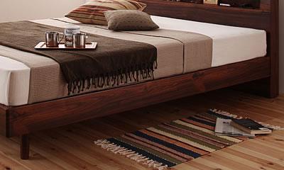 北欧風ヴィンテージスタイルに合うベッド