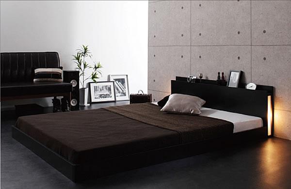 黒いベッド