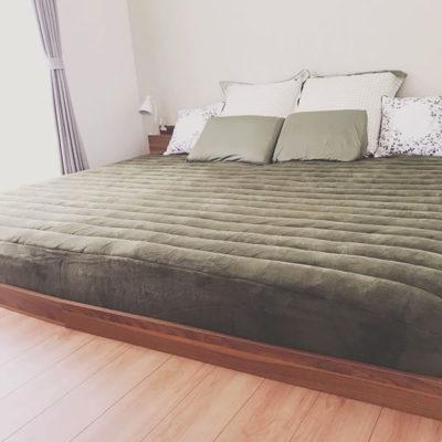 家族で寝るファミリーベッド