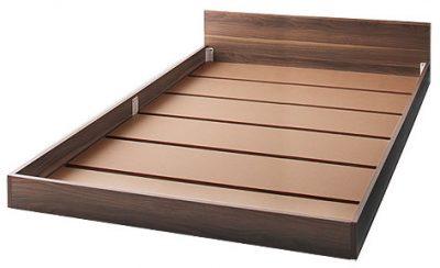 マットレス落とし込みタイプで普通の床板の通気性