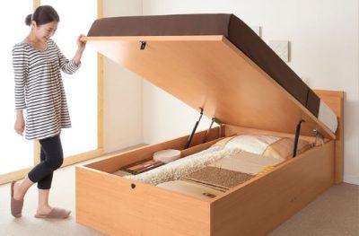 一人暮らしにおすすめの跳ね上げ式ベッド