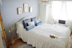 ホテルライクな寝室