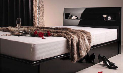 モダンインテリアに合うベッド