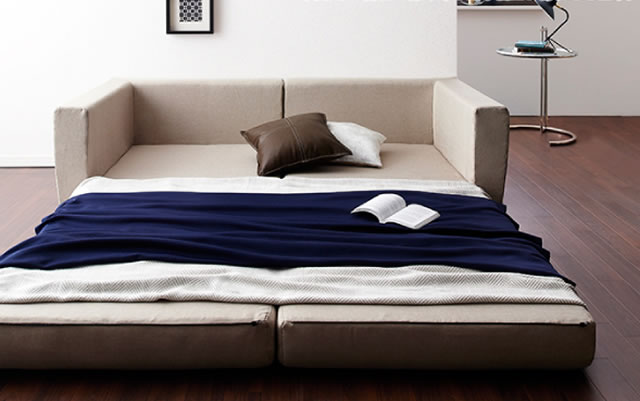 寝心地のいいソファベッド