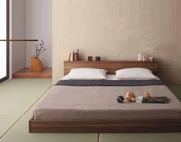 和室の低いベッド