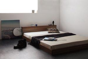 低いベッドのメリットとデメリット