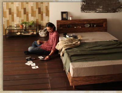 ネットショップのベッド