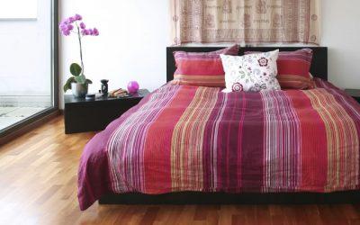 モロッカンスタイルのベッドルーム
