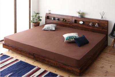 連結ベッド用のファミリーシーツ