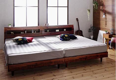 2台に分割できるベッド