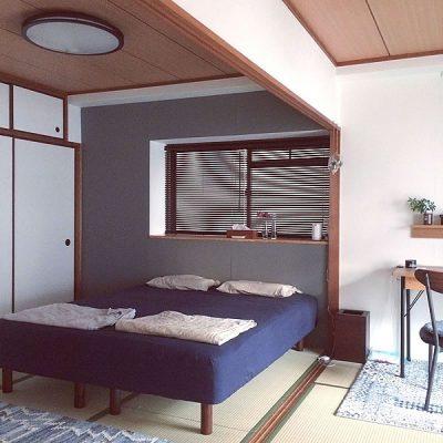 和室に合うベッド