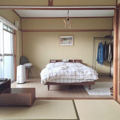 和室とベッドのコーディネート