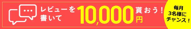レビューを書いて10,000円貰おう!
