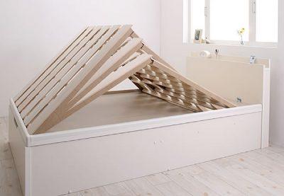 布団が干せるベッド